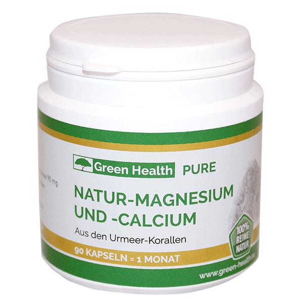 Green Health Natur-Magnesium und -Calcium