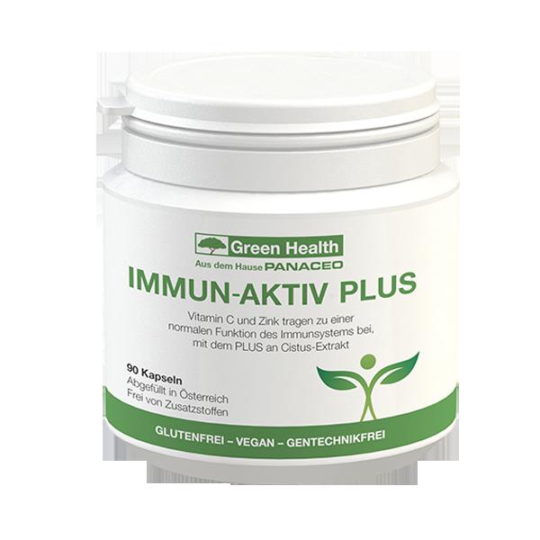 Green Health IMMUN-AKTIV PLUS Kapseln 90 Stk.