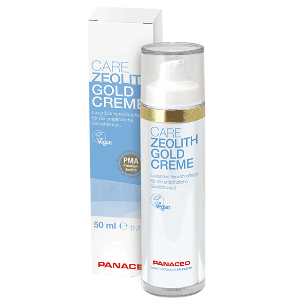 PANACEO CARE ZEOLITH GOLDCREME 50 ml