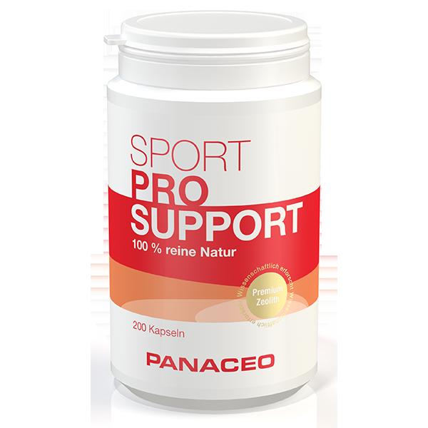 PANACEO SPORT PRO-SUPPORT Kapseln 200 Stk.