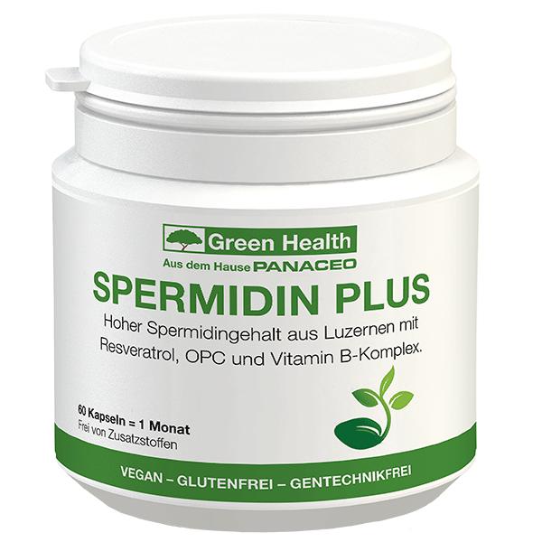 Green Health SPERMIDIN PLUS Kapseln 60 Stk.