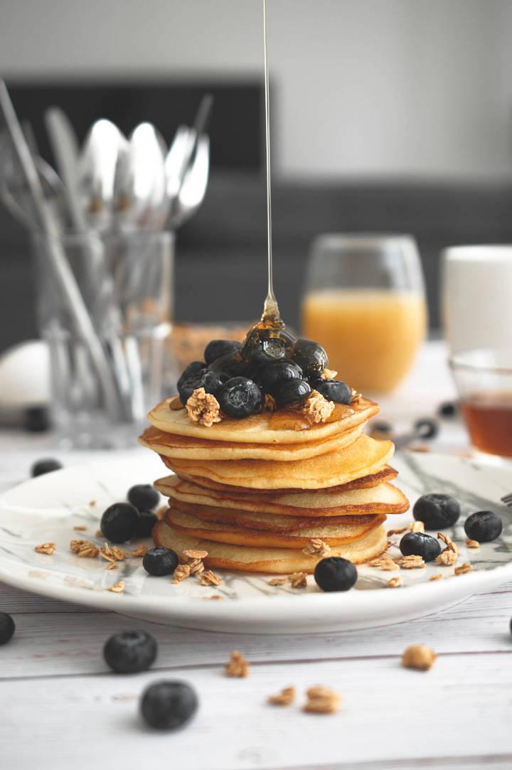 Eiweiß-Pancakes